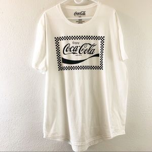 Coca-Cola Short sleeve  white and black T-Short